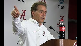 Download Nick Saban Press Conf. After 45-7 Win over Tenn. Video
