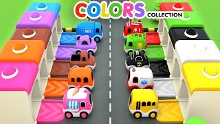 Download Colors for Children to Learn with Street Vehicles Toys - Colors Videos Collection for Children Video