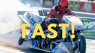Download Larry McBride Best Run on New Top Fuel Bike! Video