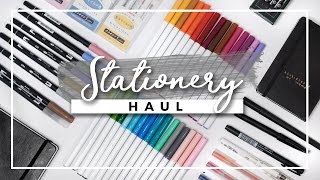 Download Stationery Haul! (w/ Demos) | Bullet Journal Supplies Video