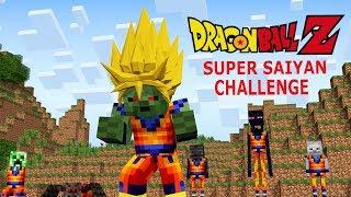 Download Monster School: Dragon Ball Z Challenge - Super Saiyan (Minecraft Animation) Video
