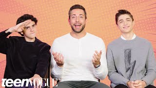 Download The Shazam! Cast Tests Their Superhero Movie Knowledge | Teen Vogue Video
