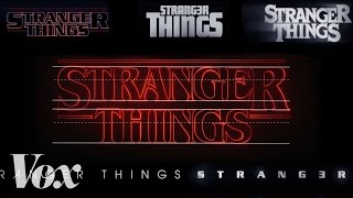 Download How Stranger Things got its retro title sequence Video