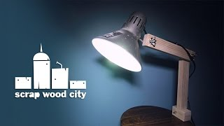 Download Super easy DIY upcycled desk lamp Video