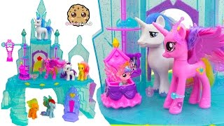 Download My Little Pony Crystal Empire Castle with Baby Flurry Heart, Princess Cadance, Shining Armor Video