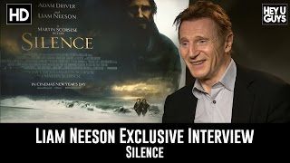 Download Liam Neeson Exclusive Interview - Silence Video
