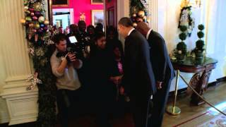 Download Steve Harvey & President Obama Surprise White House Tour Group! Video