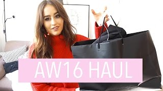 Download AUTUMN WINTER HAUL & TRY ON | TOPSHOP NEW LOOK ASOS | FASHION SLAVE | SOPHIE MILNER Video