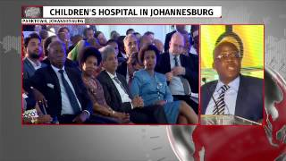 Download Dr Motsoaledi speaks at opening of Mandela Children's Hospital Video