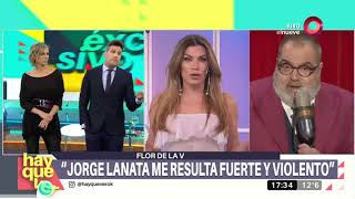Download ¿Qué pasó entre Flor de la V y Jorge Lanata? Video