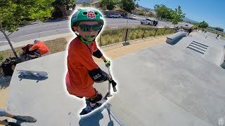 Download INSANE 10 YEAR OLD SCOOTER TRICKS! Video