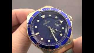 Download Croton 47mm Gold Dive Watch.m4v Video