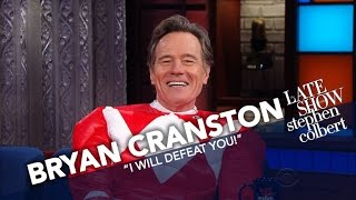 Download Bryan Cranston Is The Red Power Ranger Video