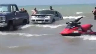 Download Funniest boat launch ever! Video
