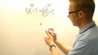Download Ekvation med x på båda sidorna Video
