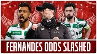 Download BREAKING: LIVERPOOL ODDS ON FOR BRUNO FERNANDES | LFC Transfer News & Chat Video