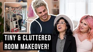 Download Tiny and Cluttered Bedroom Makeover! Video