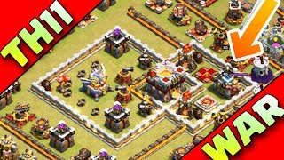 Download THIS BASE CAN SAVE YOU IN WARS | TH11 WAR BASE ANTI 2 STAR |ANTI BOWITCH Video
