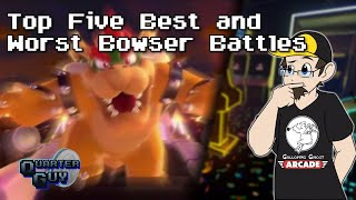 Download Top Five Best And Worst Bowser Battles Video