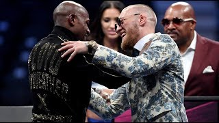 Download Floyd Mayweather and Conor McGregor: highlights of post-fight press conference Video