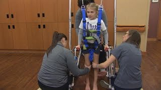 Download Girl Paralyzed While Doing Backbend Is Hopeful She'll Walk On Her Own Again Video