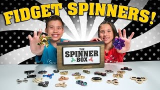 Download FIDGET SPINNER SURPRISE CHALLENGE!!! 25 Rare Spinners Showdown! Video