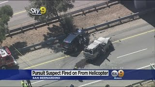 Download Suspect Dies After Deputy Opens Fire From Helicopter Along 215 Freeway Video