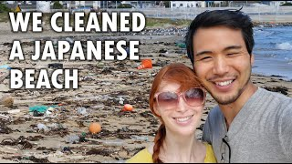 Download We cleaned a Japanese beach! #trashtag Video
