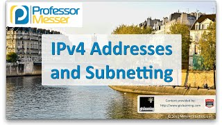 Download IPv4 Addresses and Subnetting - CompTIA Network+ N10-006 - 1.8 Video
