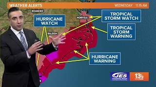 Download Tropics Update: Tracking Hurricane Florence, Wednesday, September 12, 2018 Video
