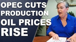 Download OPEC Cuts Production Oil Prices Rise - Lynette's Flash Five Live Facebook chat Video