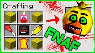 Download Minecraft FNAF - How to Summon CHICA in a Crafting Table! Video