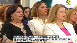 Download Tunisia lifts ban on Muslim women marrying Non-muslims Video