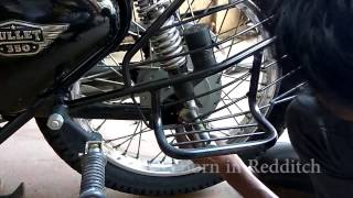 Download Royal Enfield Tyre change Video