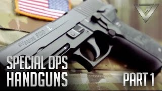 Download Special Ops Handguns Pt. 1 - 1911A1, M9, SIG 226, Glock 22, HK 45C Video