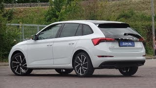 Download Skoda NEW Scala 2019 Sport Moon White 18 inch Vega Aero Walk around & detail inside Video