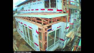 Download Timelapse video - the building of a house Video