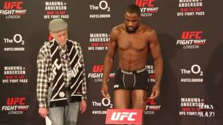 Download UFC Fight Night London Official Weigh in Video