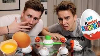 Download EGGSTREME KINDER EGG ROULETTE Video