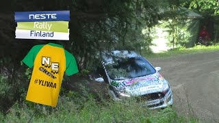 Download Neste Rally Finland 2016 | Greensmith Crash + Slides | SS19 Pihlajakoski Video