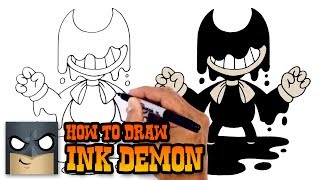 Download How to Draw Bendy the Ink Demon | Bendy and the Ink Machine Video