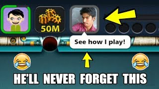 Download HE THOUGHT HE'S GOOD IN 8 BALL POOL, I TAUGHT HIM A LIFE LESSON INSTEAD...(embarassing) Video