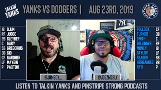 Download Yanks vs Dodgers | Aug 13 | Pre-Game Show Video