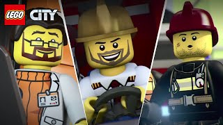 Download LEGO City Mini Movies Full Episodes Compilation | LEGO Animation Cartoons Video