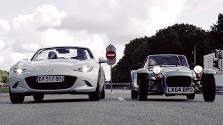 Download Match Mazda MX-5 vs Caterham 160S Video