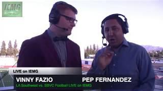 Download LIVE FOOTBALL! LA Southwest vs. SBVC (9-23-17) @ City of San Bernardino, CA. Video