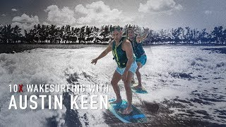Download Grant Cardone goes Wake Surfing with World Champion Austin Keen LIVE from Miami Video