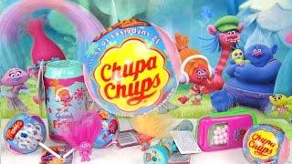 Download Chupa chups con sorpresa de Los Trolls, teléfono, lata de refresco y linterna de Los Trolls Video