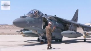 Download AV-8B Harrier Pre-flight, Conventional Takeoff & Landing. Video