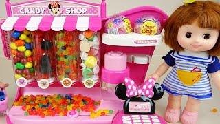 Download Disney Candy dispenser and Baby doll Orbeez surprise toys Video